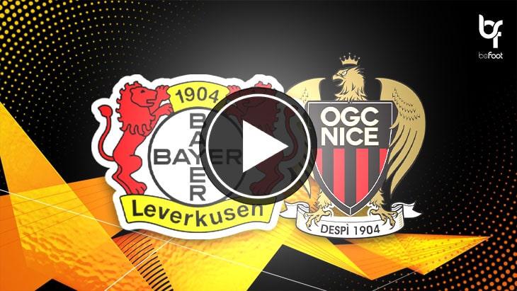 [🎬 VIDÉO] Leverkusen 6-2 Nice : Les niçois atomisés !
