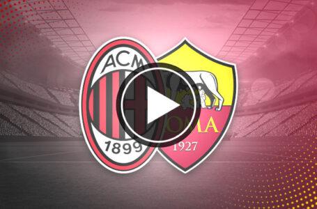 [🎬 VIDÉO] AC Milan 3-3 AS Rome : Du spectacle entre Milan et la Roma