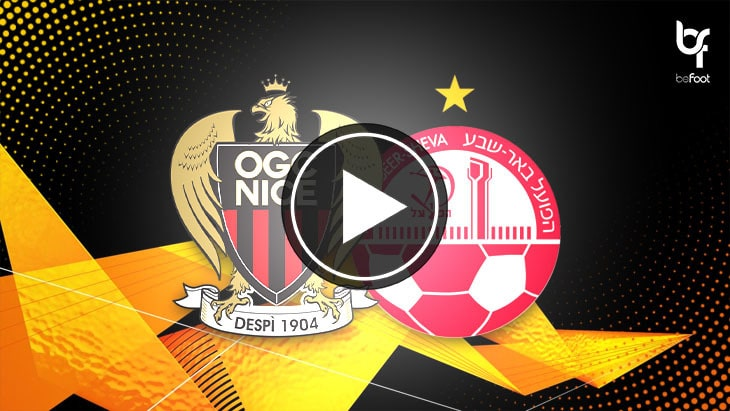 [🎬 VIDÉO] Nice 1-0 Hapoël Beer-Sheva : Les Aiglons assurent l'essentiel