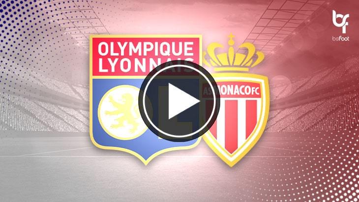[🎬 VIDÉO] Lyon 4-1 Monaco : L'OL haut la main !