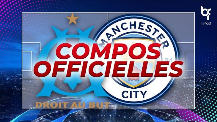 🚨 OM – Manchester City : Les compos officielles !