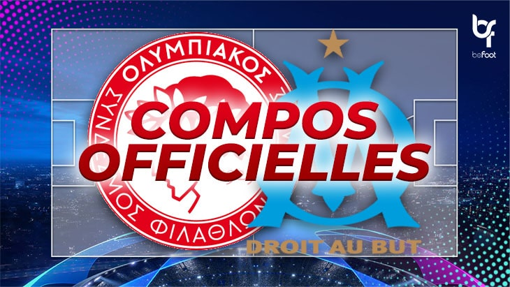🚨 Olympiakos – OM : Les compos officielles !