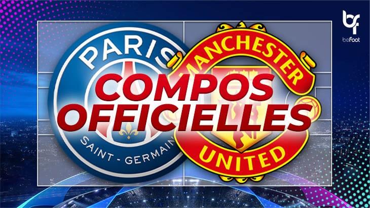 🚨 PSG – Manchester United : Les compos officielles !