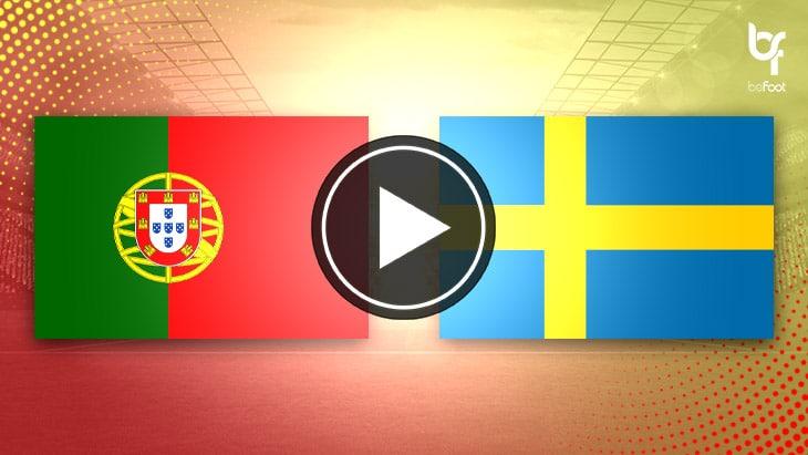 [VIDÉO] Portugal 3-0 Suède : Une victoire expéditive