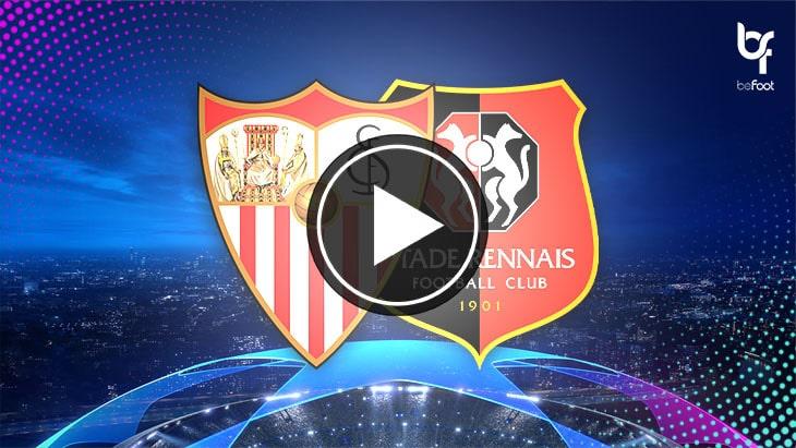 [🎬 VIDÉO] FC Séville 1-0 Rennes : Les rennais s'inclinent à Séville !