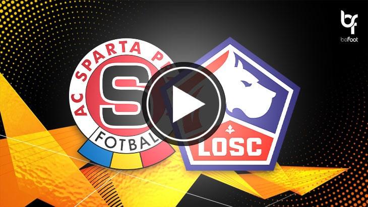 [🎬 VIDÉO] Sparta Prague 1-4 Lille : Yazici porte le LOSC
