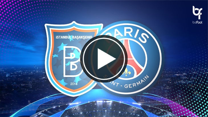 [🎬 VIDEO] Istanbul Basaksehir 0-2 PSG : Les parisiens dans la douleur