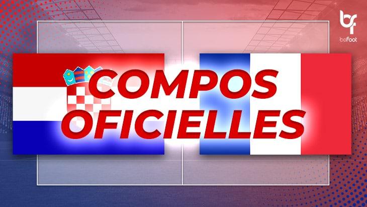 Croatie – France : Les compos officielles !