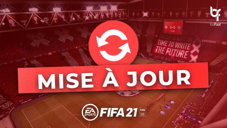FIFA 21 : Traduction de la nouvelle Mise à jour (25/11)