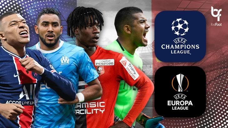 C1 – C3 : La sale semaine des clubs français en Europe