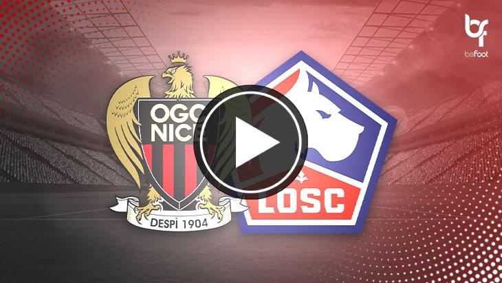 [🎬 VIDÉO] Nice 1-1 Lille : Les lillois perdent leur trône