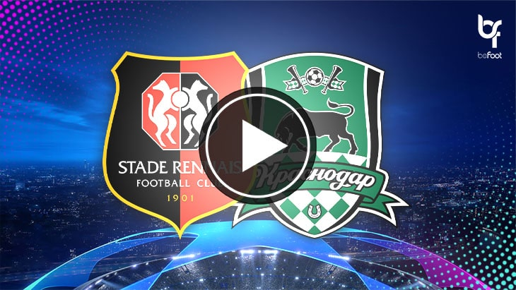 [🎬 VIDÉO] Rennes 1-1 Krasnodar : Les Rennais tenus en échec