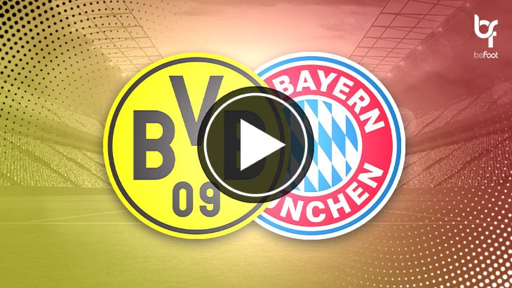 [🎬 VIDEO] Dortmund 2-3 Bayern Munich : Un Klassiker qui a tenu toutes ses promesses