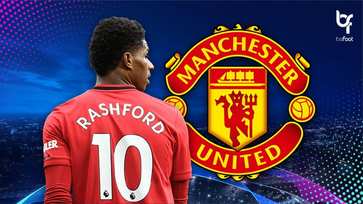 C1 – Manchester United : Rashford, en première ligne