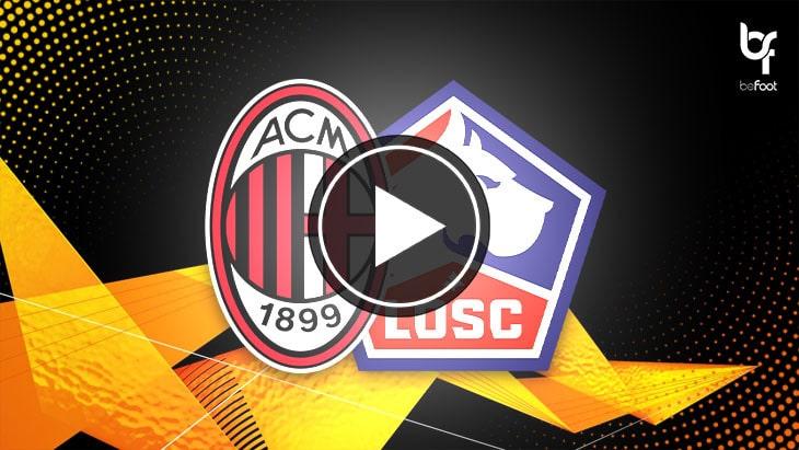 [🎬 VIDÉO] AC Milan 0-3 Lille : Le LOSC écrase l'AC Milan !