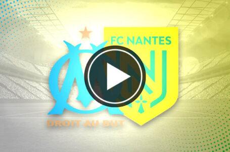 [🎬 VIDÉO] OM 3-1 Nantes : Marseille reprend de l'allure !