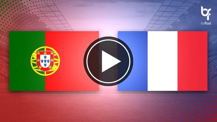 [🎬 VIDÉO] Portugal 🇵🇹 0-1 🇫🇷 France : Les bleus qualifiés pour le Final Four !