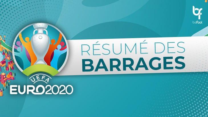 Euro 2020 – Barrages : Qui sera à l'Euro ?