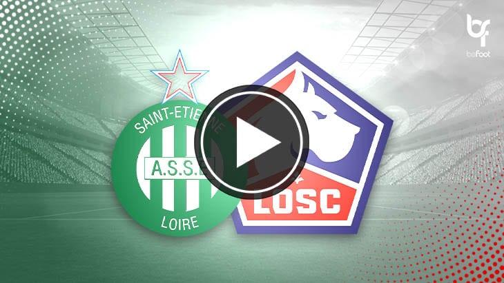 [🎬 VIDÉO] Saint-Etienne 1-1 Lille : Le nul qui n'arrange personne