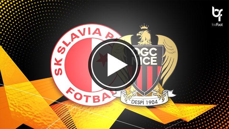 [🎬 VIDÉO] Slavia Prague 3-2 Nice : Les Aiglons battus par le Slavia !