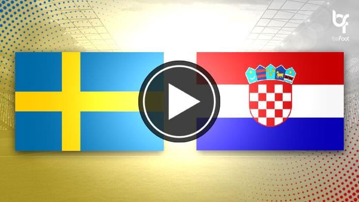 [🎬 VIDÉO] Suède 🇸🇪 2-1 🇭🇷 Croatie : Les suédois remportent leurs premiers points