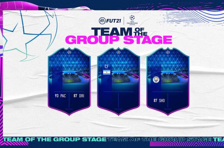 FUT 21 : L'équipe de la phase de groupe LDC est dispo !