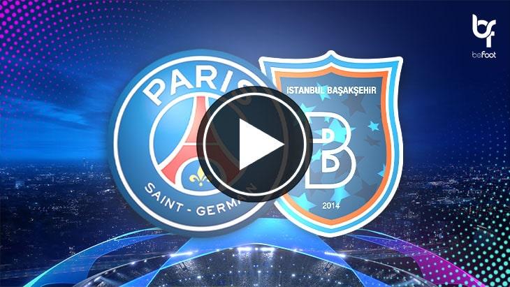 [🎬 VIDÉO] PSG 🇫🇷 5-1 🇹🇷 Basaksehir : Le PSG finit en beauté !