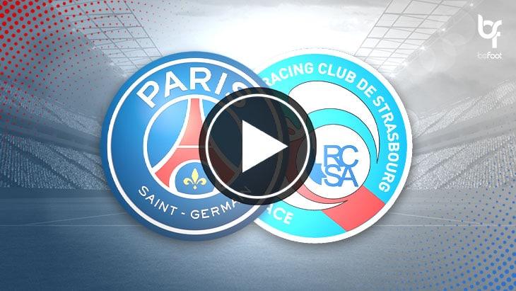 [🎬 VIDEO] PSG 4-0 Strasbourg : Paris suit le rythme