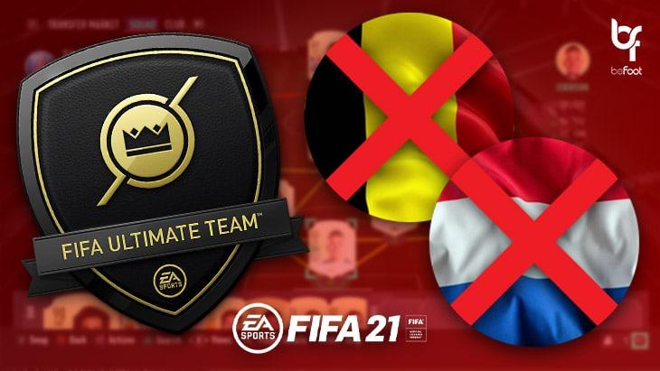 FIFA 21 : Ultimate Team interdit dans certains pays ?