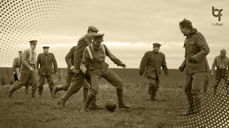 L'histoire de la «trêve de Noël» : quand le football réconcilie les hommes