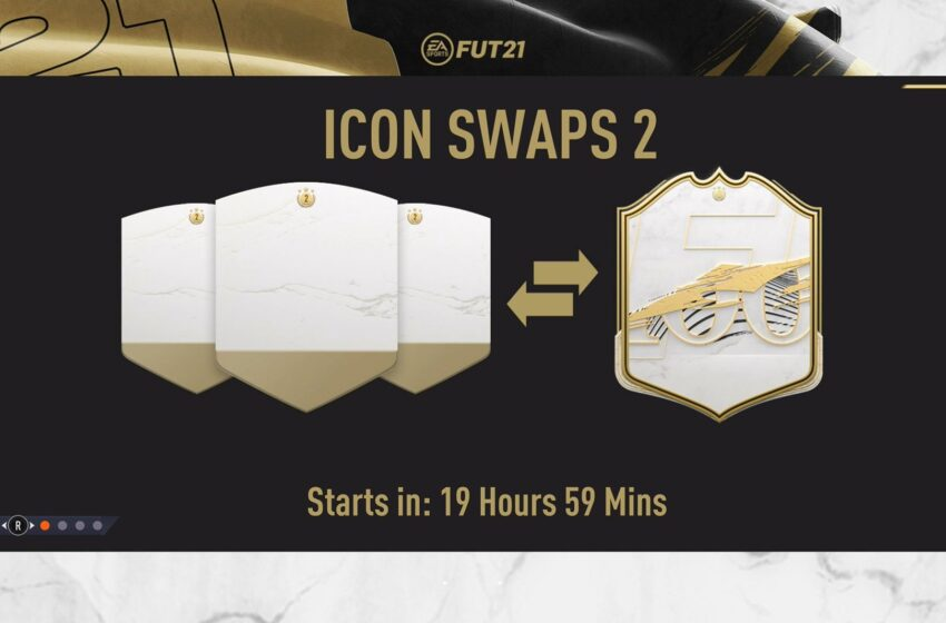 """FUT 21 : 2ème vague des """"Swaps Icones"""""""