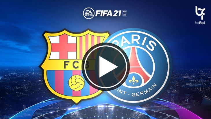 FIFA 21 : on a simulé Barça 🇪🇸 – 🇫🇷 PSG !