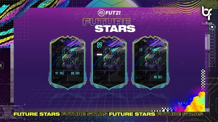 "FUT 21 : L'équipe 1 des ""Futures stars"" est disponible !"