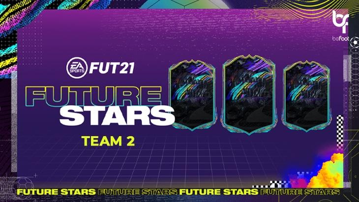 "FUT 21 : L'Equipe 2 des ""Future Stars"" est disponible !"
