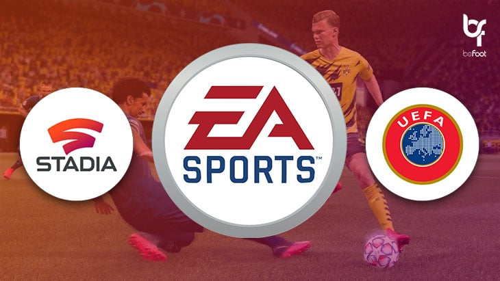 FIFA 21 : Accords avec Google Stadia et l'UEFA !