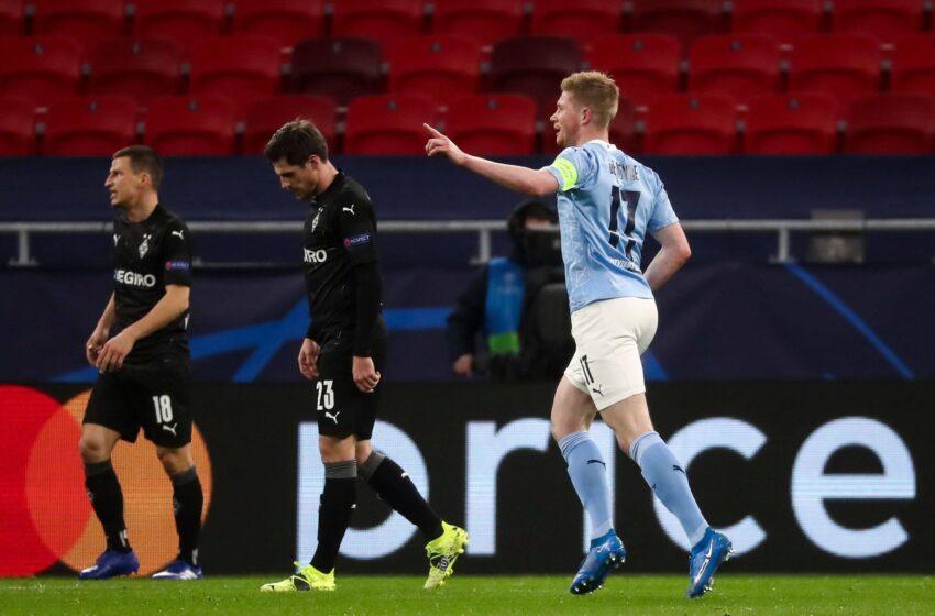 Manchester City 2-0 M'Gladbach : les Tops et les Flops !