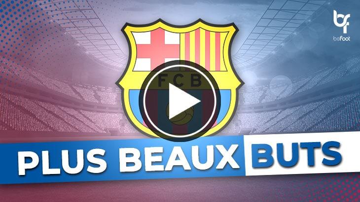 🎬 VIDÉO : les plus beaux buts de loin du FC Barcelone !