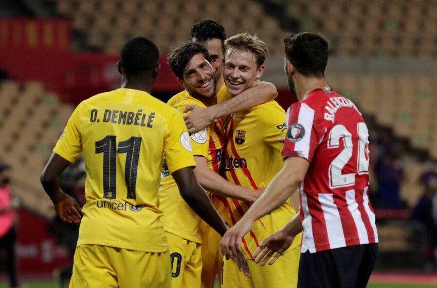 Ath. Bilbao 0-4 Barça : les Tops et les Flops !