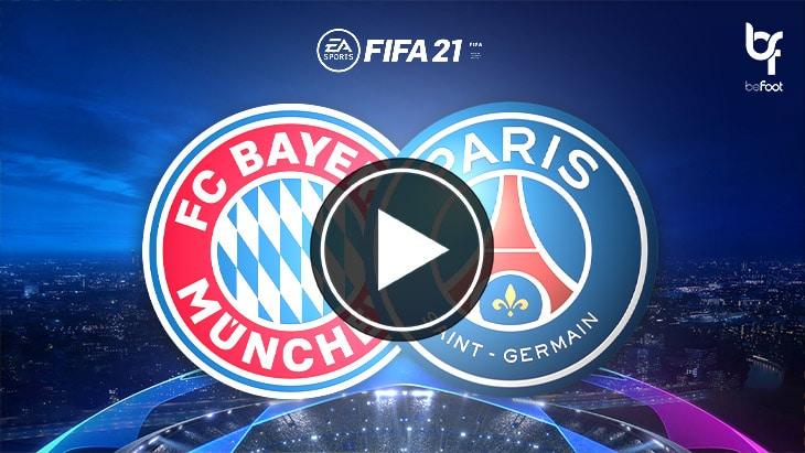 FIFA 21 : on a simulé Bayern 🇩🇪 – 🇫🇷 PSG !