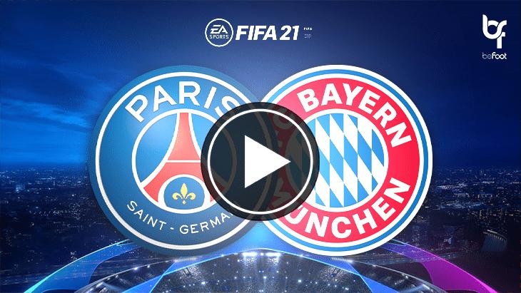 FIFA 21 : on a simulé PSG 🇫🇷 – 🇩🇪 Bayern !