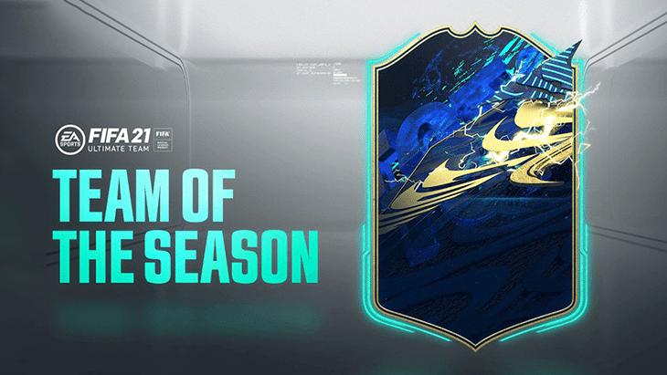 FUT 21 : les cartes Team Of The Season (TOTS) sont là !