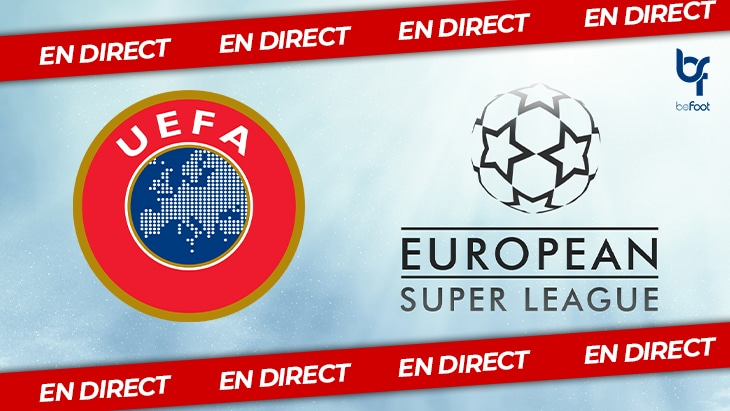 🔴 DIRECT : L'UEFA en crise, le projet de SuperLeague prend forme !