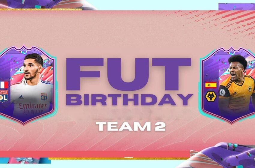 FUT Birthday : la 2ème équipe est disponible !