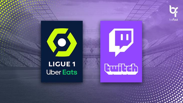 La Ligue 1 Uber Eats débarque sur Twitch !