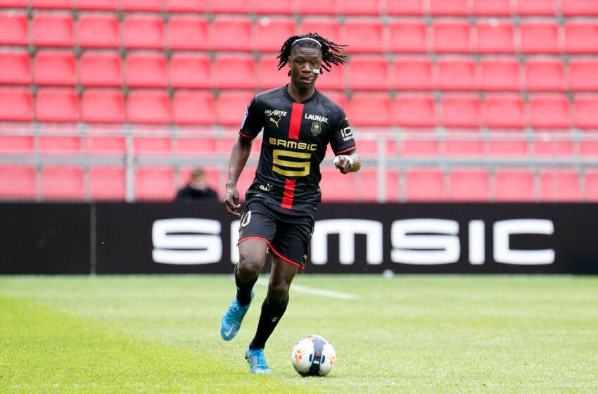 Eduardo Camavinga ne veut pas prolonger à Rennes !