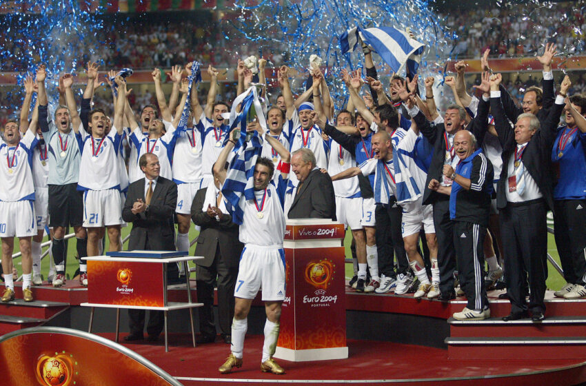 On vous raconte… l'Euro 2004 de la Grèce ! 🇬🇷