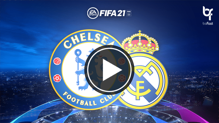 FIFA 21 : on a simulé Chelsea 🏴󠁧󠁢󠁥󠁮󠁧󠁿 – 🇪🇸 Real Madrid !