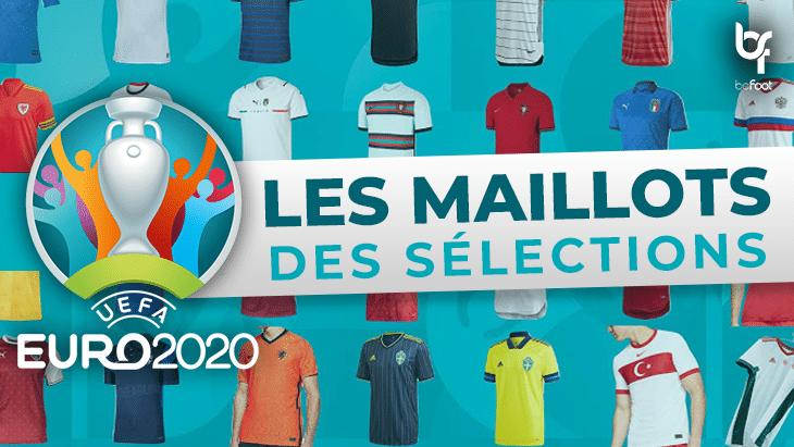 Euro 2020 : à quoi vont ressembler les maillots des sélections ?