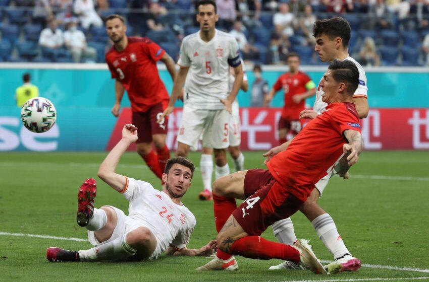 Suisse 🇨🇭 1-1 (1-3 t.a.b) 🇪🇸 Espagne : les Tops et les Flops