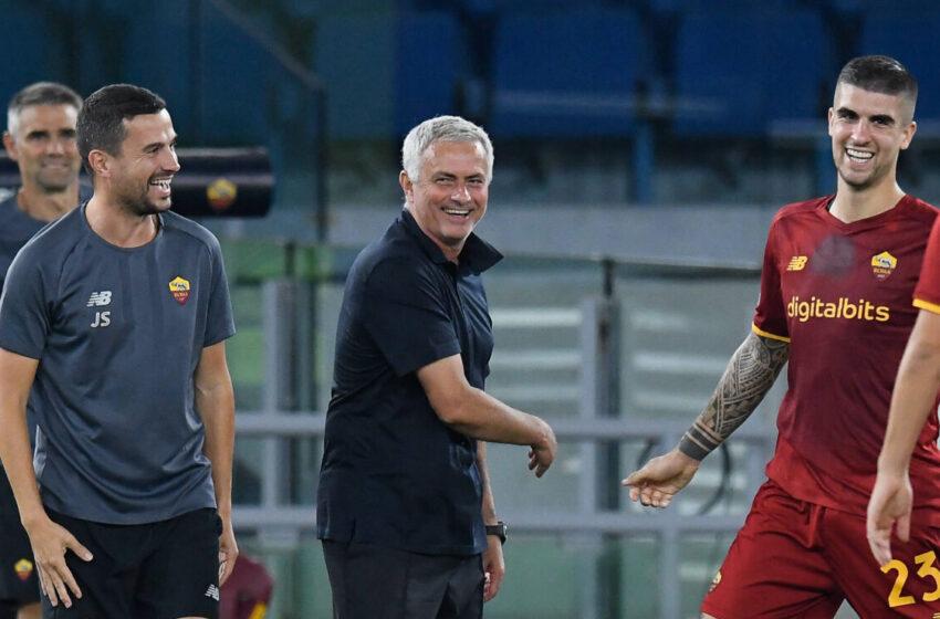 Mourinho se régale avec la Roma